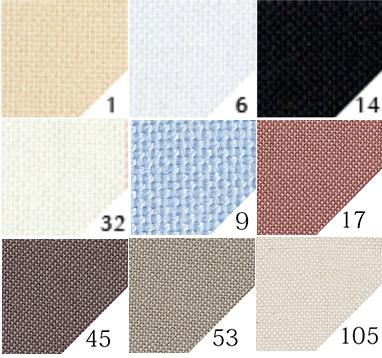 刺繍布6500番